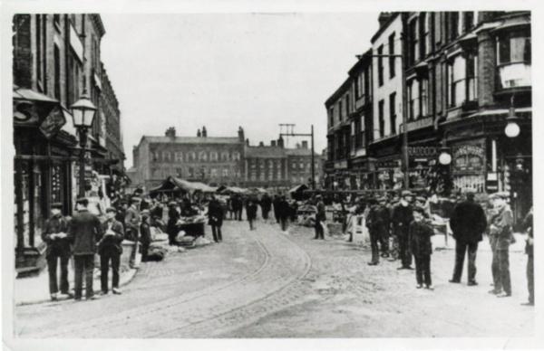 WMT6 Wednesbury Market Town c1900