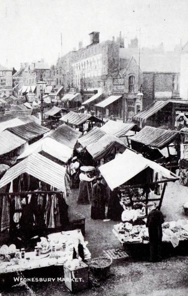 WMT7 Wednesbury Market Town c1911