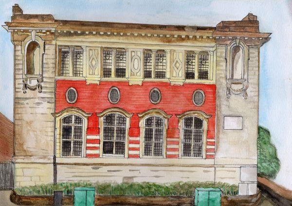 Wednesbury Library © Gugandeep Sandhu